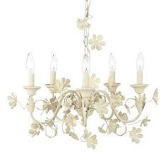 """white metal chandeliers 