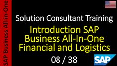 SAP - Course Free Online: 08-38 - Introduction SAP Business All-In-One Finan...