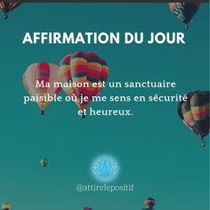 De @attirelepositif sur Instagram. Mantra, Vie Positive, Affirmations Positives, Messages, In This Moment, Poems, Happy, Motivation, Quotes