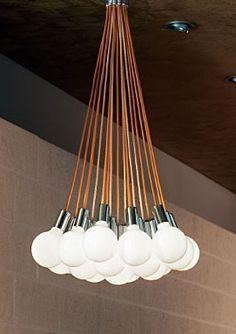 Handmade Cable Wire Bulb Chandelier Pendant Light Lamp Edison ...
