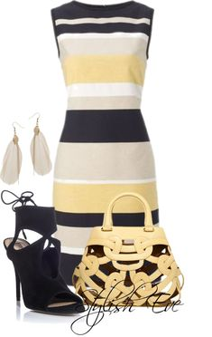 """NADA"" by stylisheve on Polyvore  Outfit & Purse Minus The Shoes"
