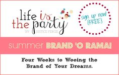 "Join @Justice Fergie  Summer Brand 'o Rama! Cultivate Brand Partnerships for Your Business in 4 Weeks. --> I""M IN!"