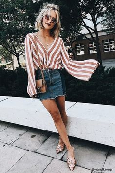 large sleeve shirt | bell sleeve shirt | summer outfit | summer style | cute outfit | fashion