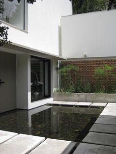 Modern Landscape Front Entrance Design, Pictures, Remodel, Decor and Ideas - page 16