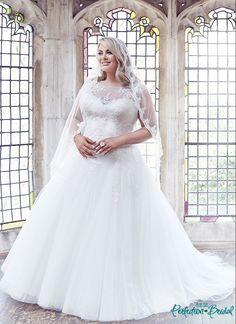 Princess Plus Size Wedding Dresses