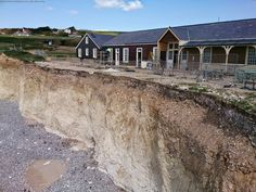 Birling Gap, East Sussex. Photos from the South Downs Way in Southern England. #sussex #outdoors #england http://www.southdownswalking.com/eastbourne-birling-gap/