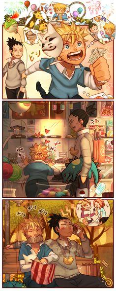 Naruto - Cute comic strip