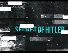 SECRET FILES OPENING Art Of The Title, Pico, Revolutions, Title Card, Motion Design, Conspiracy, Filing, Motion Graphics, Bump