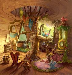 Concept art and behind the scenes of anything Disney Fairies related. All the art is official. Tinkerbell Movies, Tinkerbell And Friends, Hades Disney, Merida Disney, Disney Kunst, Disney Art, Fantasy Kunst, Fantasy Art, Illustrations