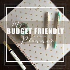 Budget Friendly Planner