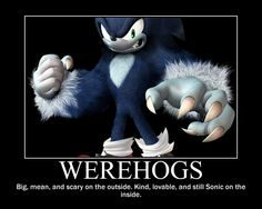 Werehog Motivator by BlazeCherry.deviantart.com on @deviantART