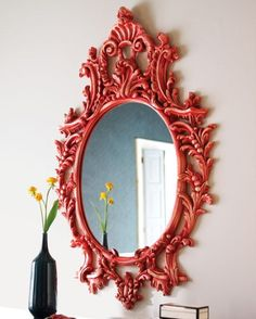 oversized colored frame