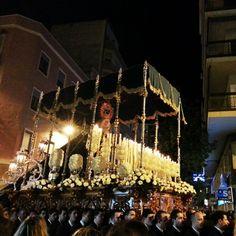 Virgen de la Estrella. Procesiones de Lunes Santo de Elche. - @Alberto Camaron- #webstagram