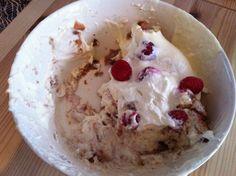 Trifle van frambozen en bosvruchten