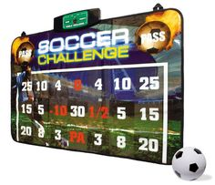 Pin for Later: The Best Gifts For Kids Under 10 Years Old For 6-Year-Olds: Soccer Challenge Indoor Soccer Game