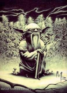 Yoda in the #Marijuana Garden of Eden
