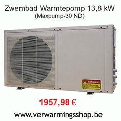 Zwembad warmtepompen solden @ www.verwarmingsshop.be