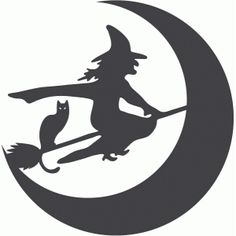 Items similar to Witch Broom Moon Cat Halloween Vinyl Decal on Etsy Halloween Vinyl, Halloween Doodle, Halloween Porch, Halloween Pictures, Vintage Halloween, Halloween Decorations, Halloween Witches, Halloween Design, Happy Halloween
