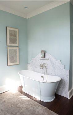 Benjamin Moore Palladian Blue Hc 144 In Eggshell Paintcolor Bedroom Nursery