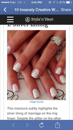 ongles hiver