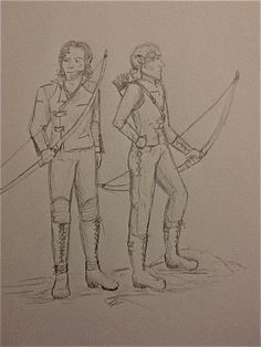 Gorlan and Jarlath by TheArtfulWriter.deviantart.com on @DeviantArt