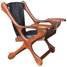 Vintage Sling 'Swinger' Chair by Don Shoemaker