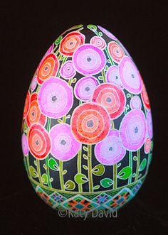 https://flic.kr/p/kNB2Fb | Friday Egg: Blueprint Poppies | ©Katy David