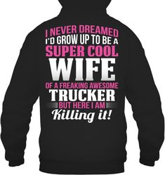 Are you looking for Trucker T Shirt, Trucker Hoodie, Trucker Sweatshirts Or Trucker Slouchy Tee and Trucker Wide Neck Sweatshirt for Woman And Trucker iPhone Case? You are in right place. Your will get the Best Cool Trucker Women in here. We have Awesome Trucker Gift with 100% Satisfaction Guarantee. Gifts For Truckers, Slouchy Tee, Freaking Awesome, Hoodies, Sweatshirts, Iphone Case, Woman, Cool Stuff, Tees