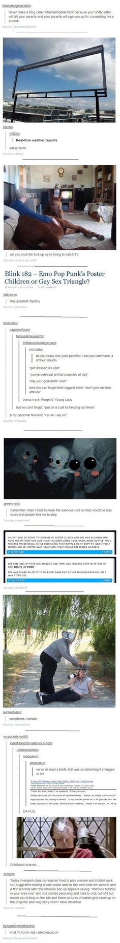 Tumblr Gold Compilation. These are all great, but the Harry potter one really did traumatize me!