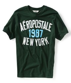 Aeropostale Mens Graphic Tee T-Shirt - Style 3786 Original U.S.A - www.lojasdobraz.com.br