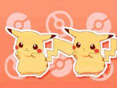 Pikachu Caramel Dansen dancing! :3 <3