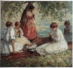 Hier treft u knitting art, door gebreidesjaals gevonden schilderijen (al sinds 2011) die het thema dragen van breien in de kunst. ...