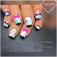 Nail Art / Nail Design   IG & FB Pigments Nails