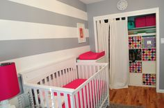 Project Nursery: Isabella's Room Grey and pink