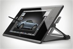 Wacom Cintiq 24HD interactive pen display. The future of tablets?