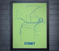 transit maps: sydney