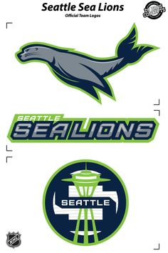 Seattle sealions: nhl concept on behance. seattle sealions: nhl concept on behance sports brand logos Sports Brand Logos, Sports Team Logos, Sports Brands, Nhl Logos, Hockey Logos, Seattle, Branding, Sport Photography, Logo Concept