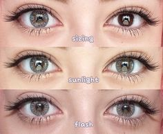 NEO Vision 4-Tone Cosmetic Contact Lenses || SHOP >> http://www.eyecandys.com/clover-4-tone-series-14-2mm/