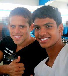 Grande Irmão* Aquila Freitas e Eu!