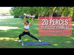 20 perces TELJES TEST edzés a Margitszigetről - YouTube