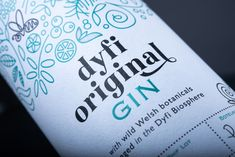 The DYFI Distillery Pollination Gin Labels designed by dare! and proudly printed by Multi-Color UK. Visit www.mccshowcase.co.uk/ for more beautiful labels.  #mcc #multicoloruk #gin #ginlabel #dyfi #pollination #labels #ginlabels #label #design #labeldesign #tactile