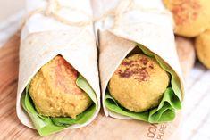 albóndigas vegetarianas hechas con garbanzos y coliflor