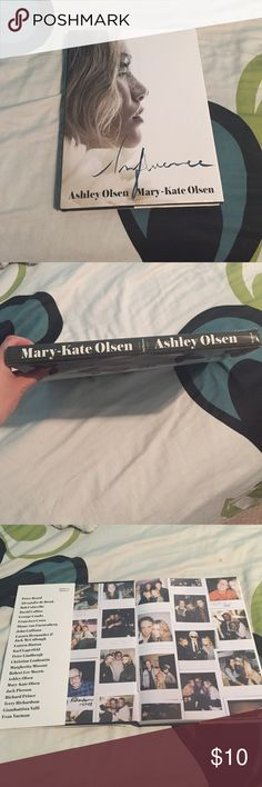 Mary-Kate and Ashely Olsen book Mary-Kate and Ashley Olsen coffee table book titled Influence Other