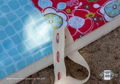 #moda #mulher #roupa #presentes #portugal #praia #toalhas | Limited edition: only 12 made | Beach towel Cool garden on the pool