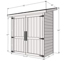 Small Shed Plans Blueprints Small Shed Plans 6 X 8 Wood Shed Plans 6 X 8 Ana White Build A Small Cedar Fence Picket Storage Shed Free And Easy Diy Diy Storage Shed Plans, Small Shed Plans, Shed Design Plans, Wood Shed Plans, Small Sheds, Garden Tool Storage, Storage Beds, Small Wood Shed, Barn Storage