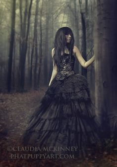 Gothic Memory i would love doing something like this. I need a goth model.