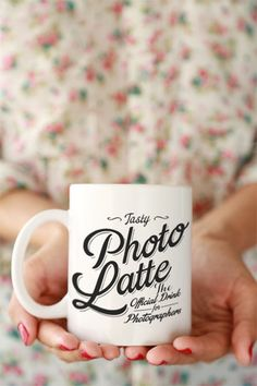 A mug for photographers :) combine your two favorite things - coffee and photography