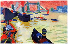 Derain, Andre - 1906 The Thames