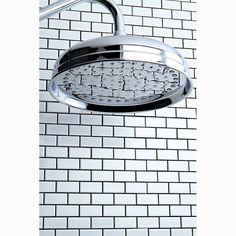 Feel like you are taking an outdoor shower in the privacy of your own home with this large rainshower shower head. Measuring 10 inches in diameter, this shower head will turn your own shower into a luxurious experience.