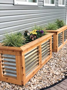 Metal Raised Garden Beds, Raised Garden Planters, Raised Planter Boxes, Garden Planter Boxes, Metal Planters, Outdoor Planters, Raised Flower Beds, Raised Beds, Long Planter Boxes